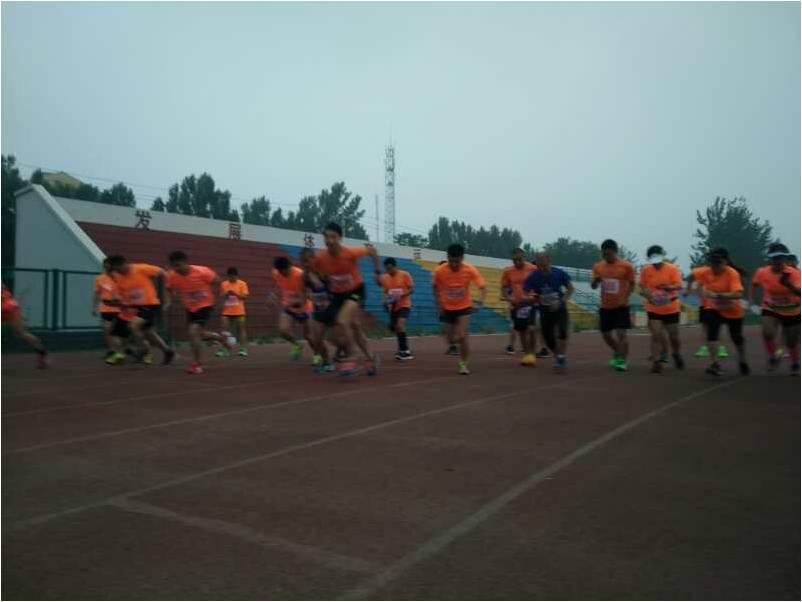 公司组织参加马拉松十公里测试赛3