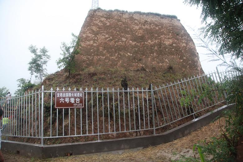 宜君战国魏长城遗址保护建筑装饰项目