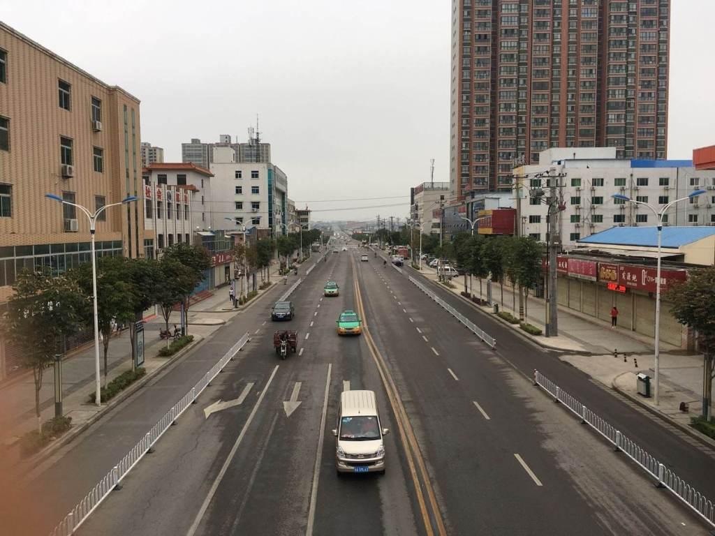 富平县车站大街西段道路工程