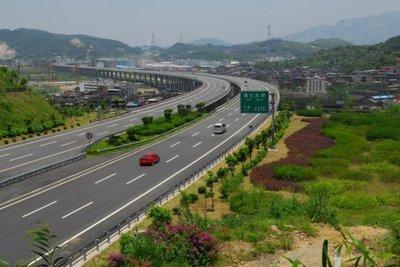 兴平市南环路东口绿化工程