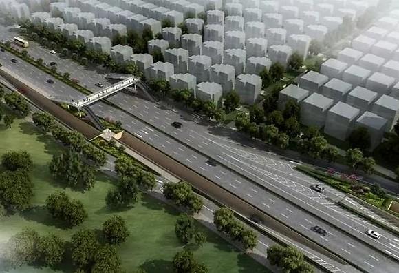 西安渭北主次干道7个项目