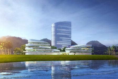 海南陵水黎安国际教育创新试验区图书馆(暨国际学习中心)项目、公共实验楼(一期)项目